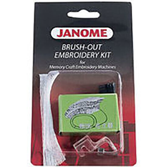 Janome Brush Out Embroidery Kit