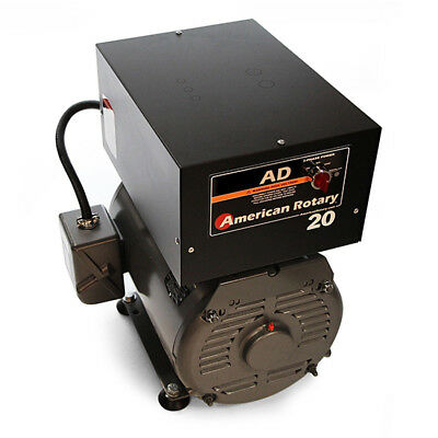 American Rotary Ad20fm Floor Mount Ad Series 20hp Rotary Phase Converter 240v