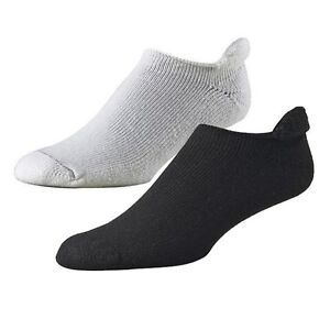 NEW-FootJoy-Golf-Roll-Top-Mens-Socks-BLACK-1-Pr-Shoe-Size-7-12-NEW