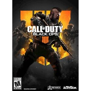 Call of Duty Black Ops 4 windows pc game brand new - Digital