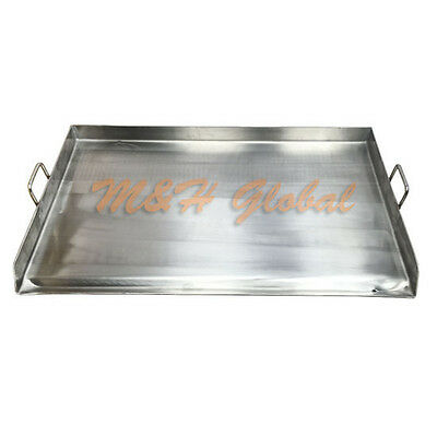 32 Stainless Steel Griddle Flat Top Grill For Double Burner Stove
