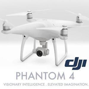 USED DJI PHANTOM 4 QUADCOPTER DRONE - 123272621 - W/ CAMERA  CONTROLLER TOYS