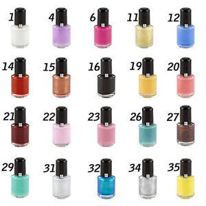 5x Stamping Lack/ für Stampingschablone Nailart Stempel Fingernägel Nailart