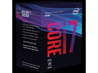 i7 8700k intel's latest 6 core 12 thread CPU in the Latest Z370 Motherboard and 3600mhz ram