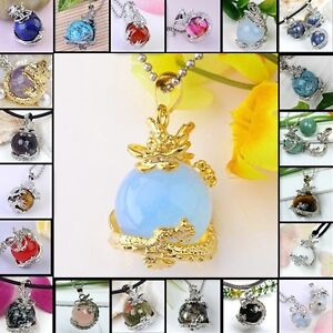 Fashion-Natural-Gemstone-Gem-Jewelry-opal-Bead-Dragon-Pendants-For-Necklace