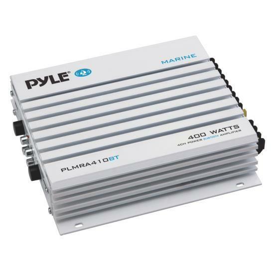 Pyle 2.1 Bluetooth Marine Amplifier Receiver - Waterproof 4