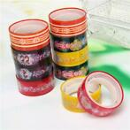 10 Rolls Cartoon Decor Tape Scrapbooking Adhesive Paper T...