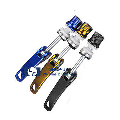 New Bicycle Cycling Aluminum Quick Release Seat Binder Post Clamp Skewer (Bicycle Seat Binder Bolt)