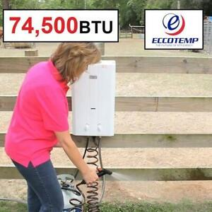 NEW* ECCOTEMP TANKLESS WATER HEATER LP10 246098647 OUTDOOR HIGH CAPACITY