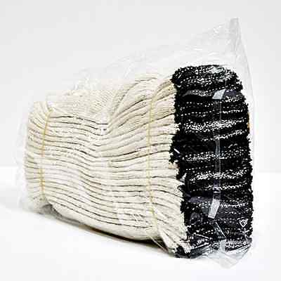 10 Pairs WHITE POLY COTTON STRING KNIT WORK GLOVES made in Korea