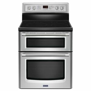 Gemini 6.7 cu. ft. Double Oven Electric Stove with EvenAir™ Conv