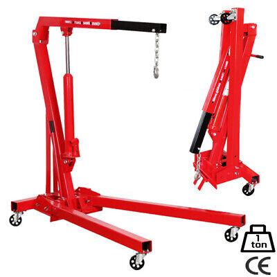 GRUA PLEGABLE 1 TONELADA IDEAL PARA MOTORES. Grua para taller mecanico -...