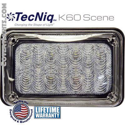 Tecniq K60-sw00-1 Led Surface Mount Scene Lights With Chrome Kit Usa Lifetime