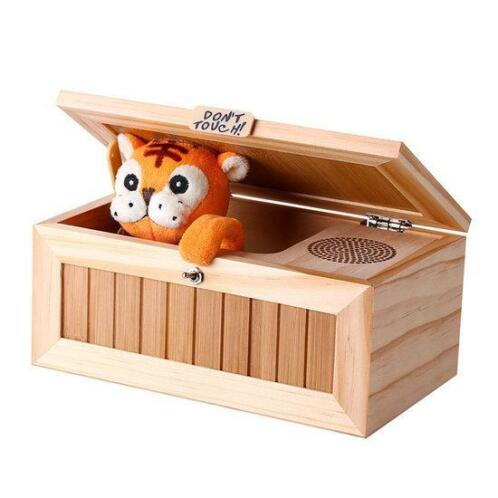 Upgrade Useless Box Met Sound Cute Tiger 20 Modes Funny T...