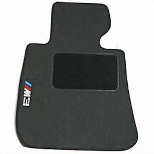 BMW OEM Black Carpet Floor Mats w/Heel Pad 2007-2013 E92 M3 Coupes 82112293533