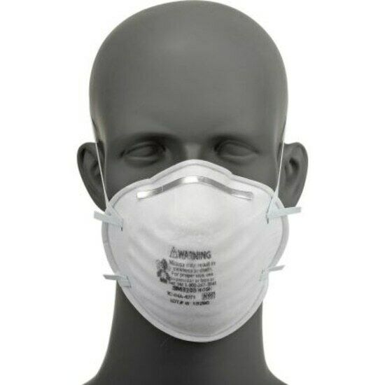 1 EACH – 3M 8200 N95 Particulate Disposable Respirator Face Mask EXP. Date: 2026 Business & Industrial