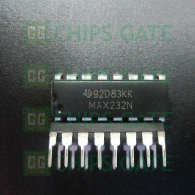 3pcs New Max232n Ti 10 Dip