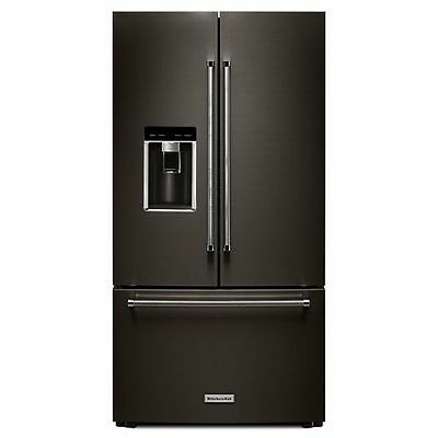 "KitchenAid® 23.8 cu. ft. 36"" Counter-Depth French Door Refrigerator KRFC704FBS"