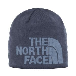 c0d3c176e The North Face Gray Merino Wool Blend Highline One Size Beanie Cap 243