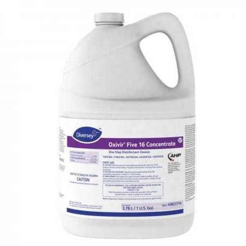 Diversey OXIVIR FIVE 16 AHP CONCENTRATE 1 Step Disinfectant Cleaner 1-gallon