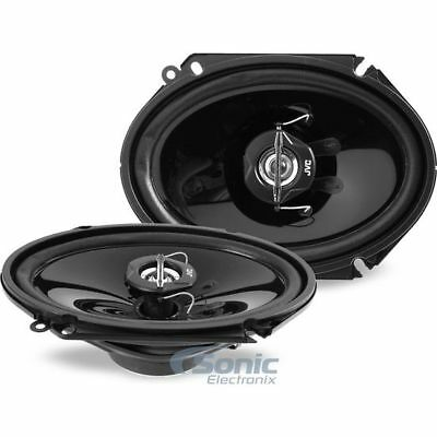 JVC CSJ6820 Speaker is 6X8 inches with 2 Way Coaxial with 25