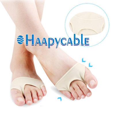 Forefoot Pad (New 1 Pair Metatarsal Sore Ball of Foot Gel Pads Pain Cushions Forefoot Support )
