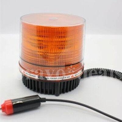 LED Magnetfuß Rundumleuchte Gelb licht Pannenlicht Blinklicht Warnleuchte 12V