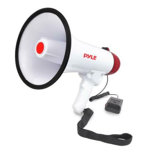 Pyle PMP40 Professional Megaphone/Bullhorn with Siren and Handheld Mic