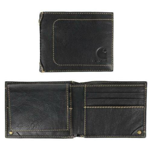 Carhartt Mens Leather Pebble Brown Passcase Wallet