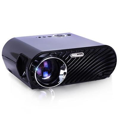 Pyle PRJLE64 Compact Color Pro Digital Projector, HD 1080p W/ Built-in Speakers
