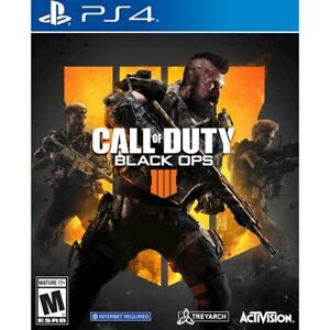 Call of Duty Black Ops 4 for PS4 - Brand New and Sealed