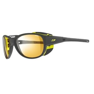 5472f264a8 Julbo J4973121 Explorer 2.0 Mountaineering Glacier Sunglasses in Grey Lime