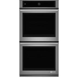 Four double mural Jenn-Air 27 po, Convection, Stainless, Showroom