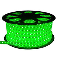120Volt Outdoor Green LED Rope Light 150Ft