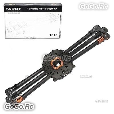 Tarot T810 folding 6 six axis Carbon Rack Frame Multiortor Drone  - TL810A