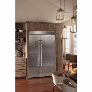 Réfrigérateur 48po côte à côte profondeur comptoir, Jenn-Air, custom