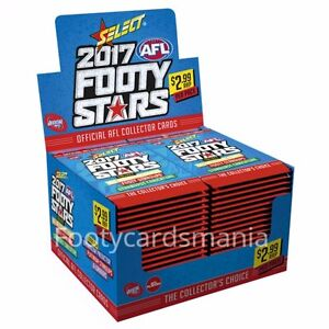 2017 AFL SELECT FOOTY STARS FACTORY SEALED BOX + SEALED ALBUM + VALUE PACK