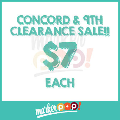 CLEARANCE SALE Concord & 9th Clear Stamps (Clear Sale)