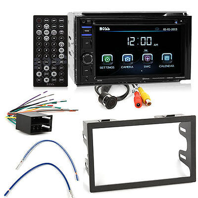 Boss BVB9364RC Bluetooth DVD Car Stereo Install Package for Select 1999-01 VW