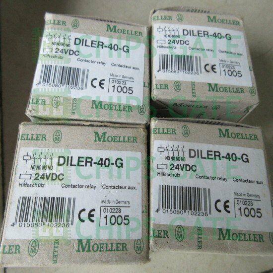 1PCS New Moeller DC contactors DILER-40-G DC24V Fast Ship