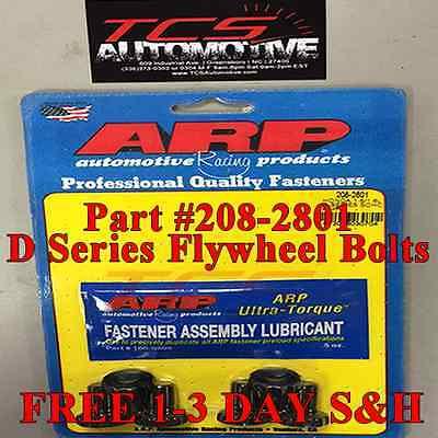 - ARP 208-2801 Flywheel Bolts for 88-05 Honda Civic D-Series SOHC D15 D16 D17