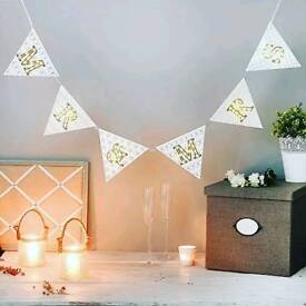 Light up Mr & Mrs Bunting