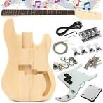 DIY Unfinished Electric Guitar Basswood Wood Body with Ne...