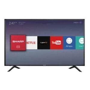 Sharp aquos  4k smart tv 55