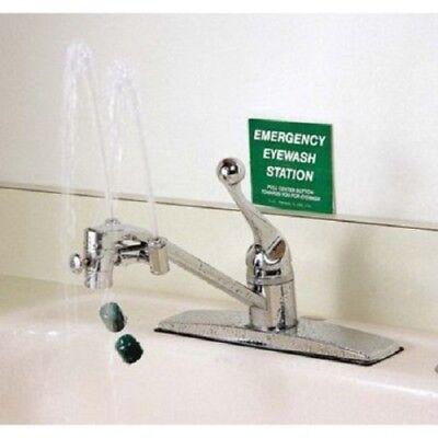 OPTI KLENS Faucet Mount Eyewash Station Eye Wash Fast Easy Installation USA Made - Faucet Mount Eye Wash Station