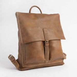 ROOTS GENUINE LEATHER BACK PACK - Raiders Pack Tribe