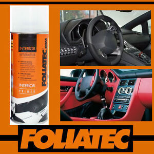 foliatec car interior dashboard door pvc plastic vinyl primer spray can 400ml ebay. Black Bedroom Furniture Sets. Home Design Ideas
