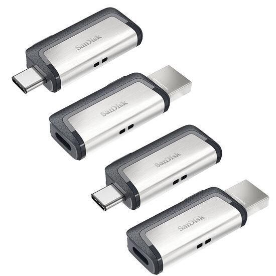 SanDisk TypeC OTG 256GB 128GB 64GB 32GB 16GB USB 31 30 Ultra Dual Drive Lot