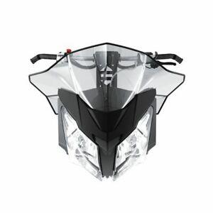 Skidoo-Sport  flared windshield-medium 860200696-REV-XM, REV-XS,