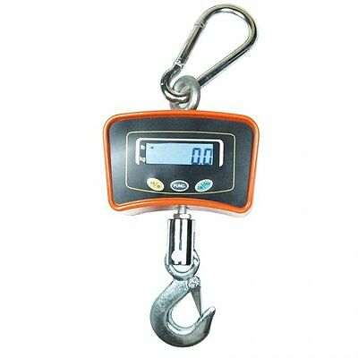 USA! Digital Crane Scale 500 KG / 1100 LBS Heavy Duty Industrial Hanging Scale